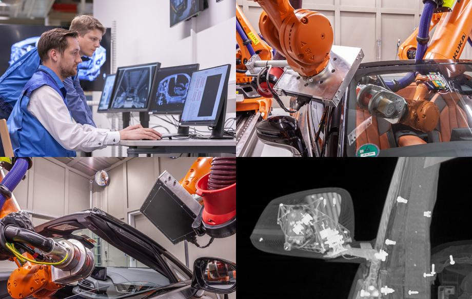 Установка создана в кооперации с исследовательским центром рентгеновских технологий Фраунгофера (EZRT). Её разработка заняла два года.