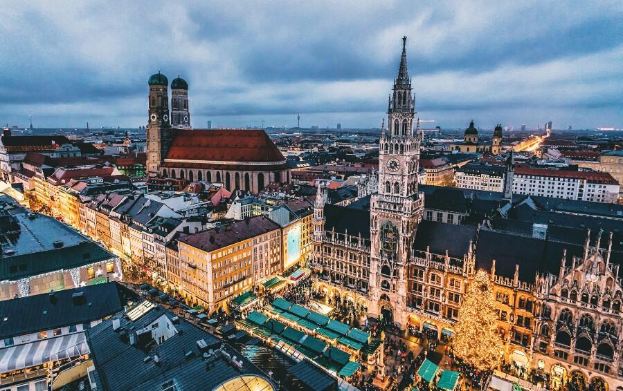 Столица Баварии - Мюнхен